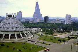 Turisták Észak-Koreában
