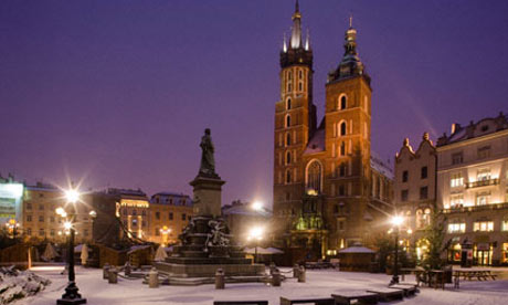 Advent Krakkóban