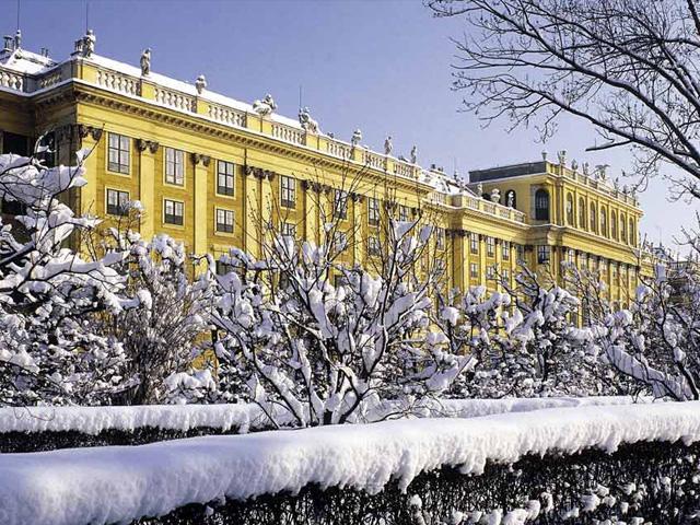"""Képtalálat a következőre: """"schönbrunn kastély télen"""""""